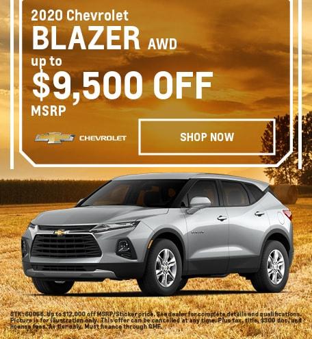 2020 Blazer Offer