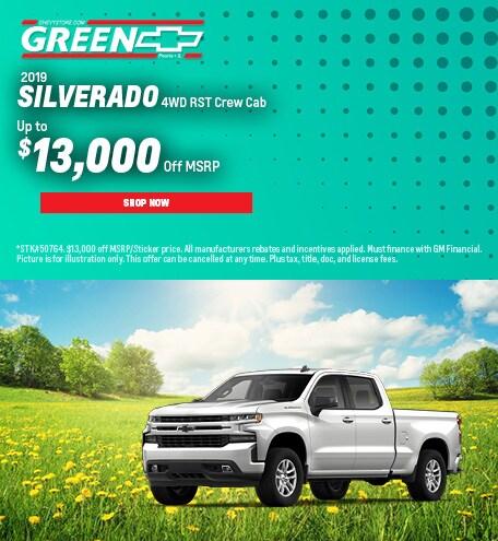 2019 Silverado 1500 June Offer