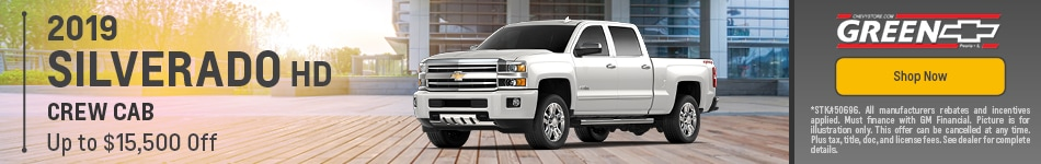2019 Chevy Silverado HD Discount - August