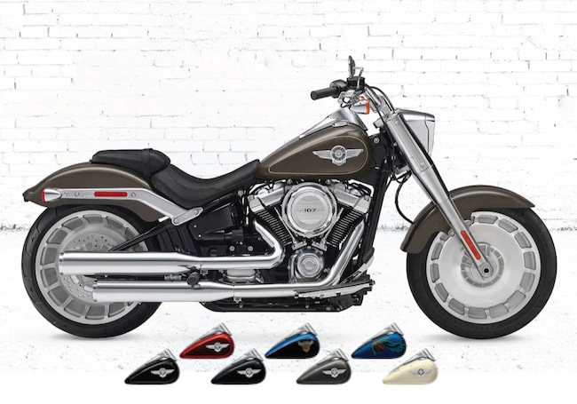 New 2018 Harley-Davidson Softail Fat Boy FLSTF Softail For Sale near Chicago, IL