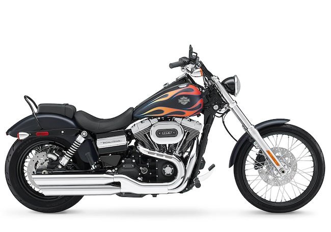 New 2017 Harley-Davidson Dyna Wide Glide FXDWG Dyna For Sale near Chicago, IL
