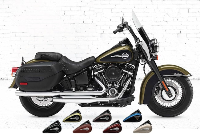 New 2018 Harley-Davidson Softail Heritage Classic FLSTC Softail For Sale near Chicago, IL