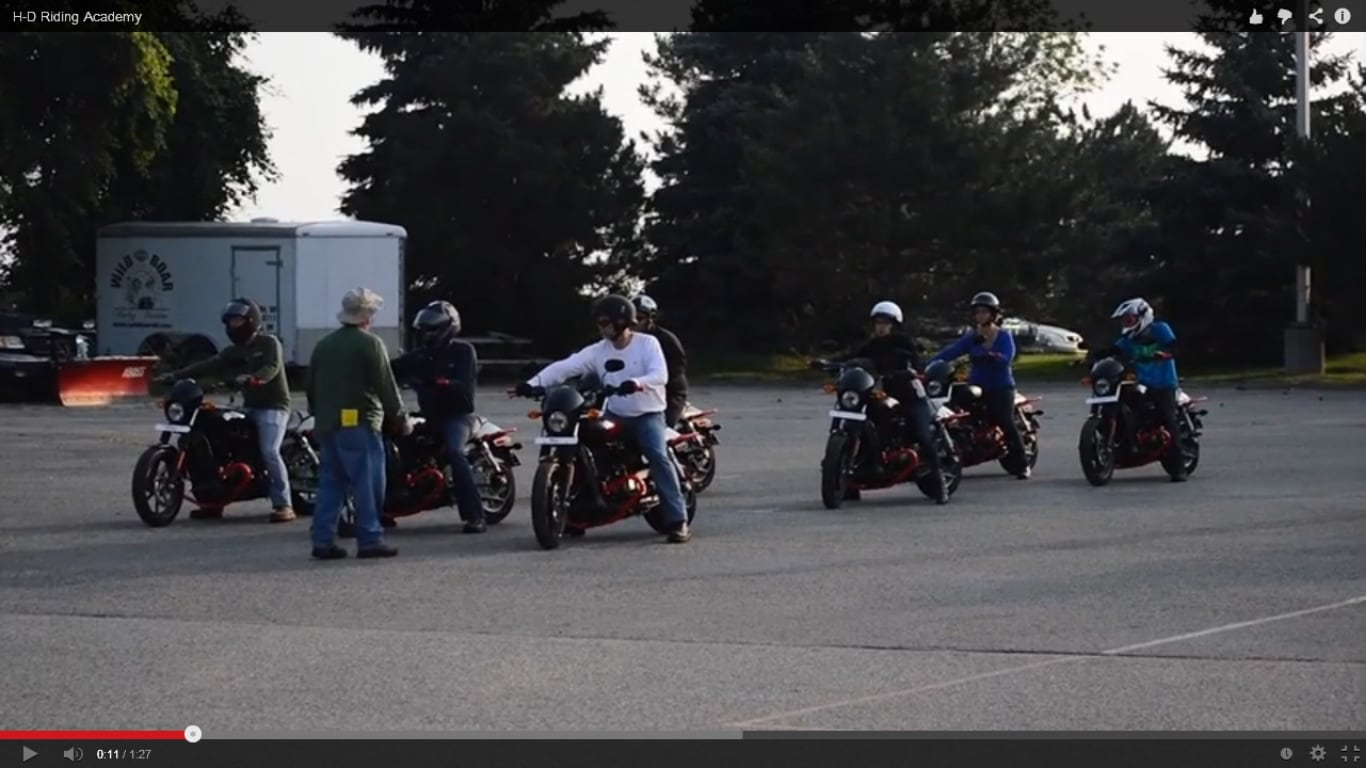 harley rider's edge | learn to ride at chicago harley-davidson