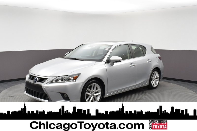 Featured Used 2016 LEXUS CT 200h Hybrid Hatchback for Sale in Chicago, IL