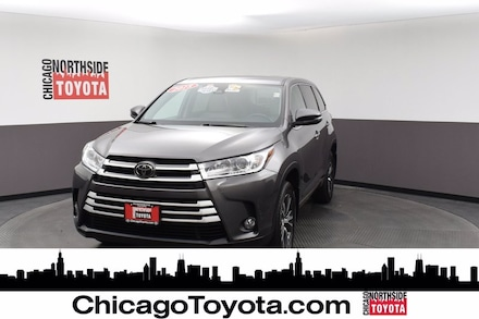 Featured Used 2018 Toyota Highlander LE Plus Sport Utility for Sale in Chicago, IL