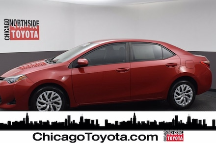 Featured Used 2017 Toyota Corolla LE Car for Sale in Chicago, IL