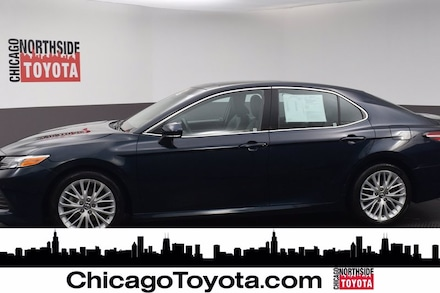 Featured Used 2018 Toyota Camry XLE Car for Sale in Chicago, IL