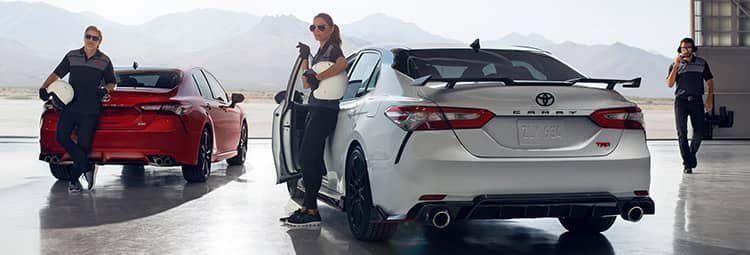 2020 Toyota Camry TRD and XSE V6