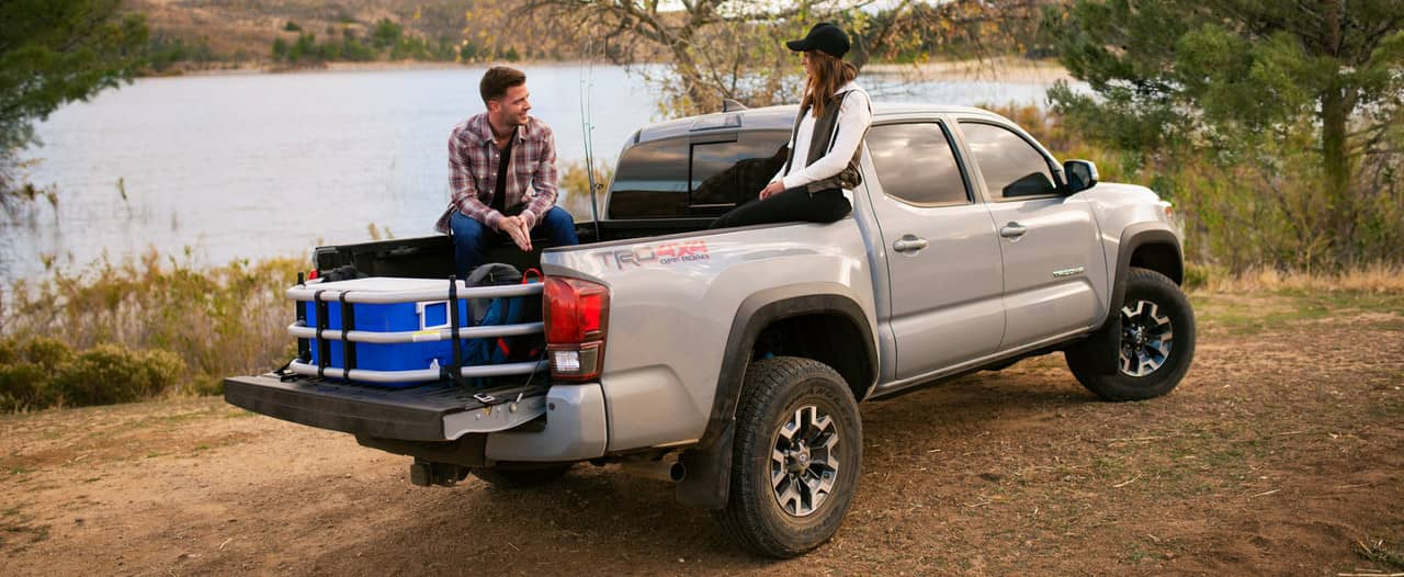 2019 Toyota Tacoma TRD with mudguards