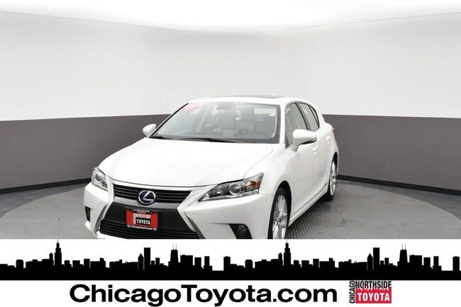 Used 2016 LEXUS CT 200h Hybrid Sedan For Sale Chicago, IL