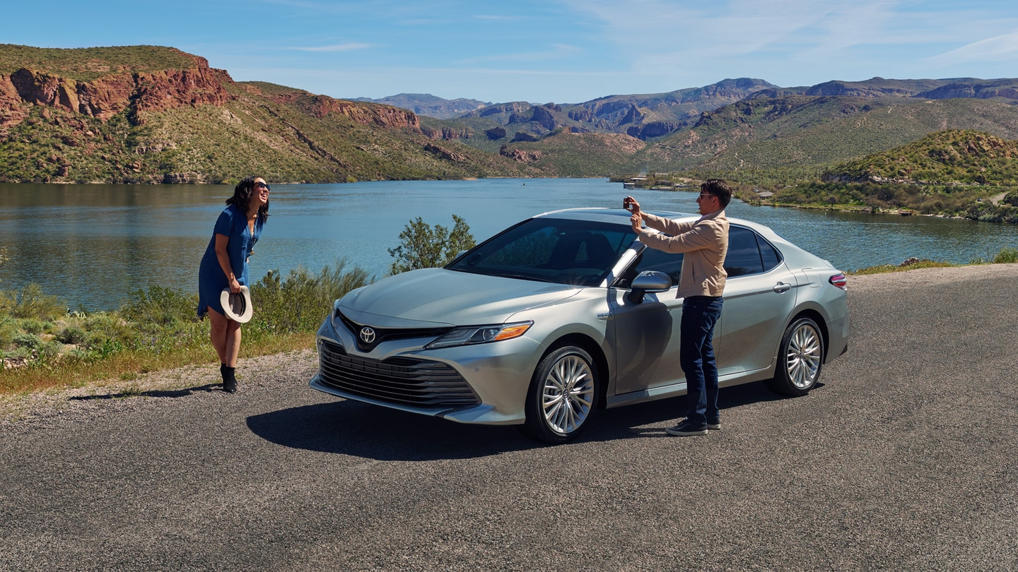 2018 Toyota Camry outdoors