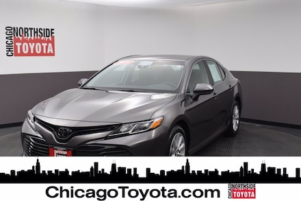 Featured Used 2018 Toyota Camry LE Car for Sale in Chicago, IL