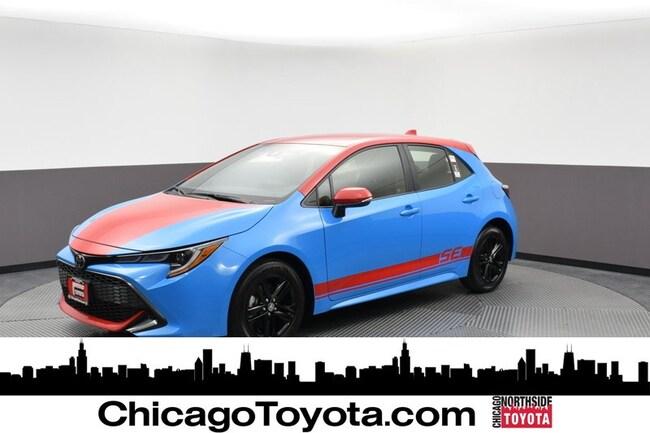 New 2019 Toyota Corolla Hatchback SE Hatchback N20030 For Sale in Chicago, IL