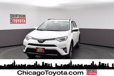 Featured Used 2017 Toyota RAV4 Hybrid XLE Sport Utility for Sale in Chicago, IL
