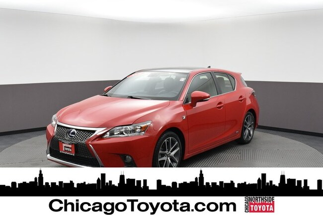 Used 2016 LEXUS CT 200h Hybrid Sedan For Sale Chicago, IL