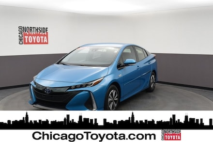 Featured Used 2018 Toyota Prius Prime Plus Hatchback for Sale in Chicago, IL