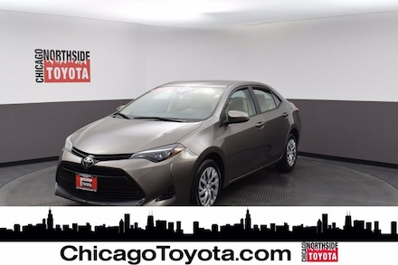 Featured Used 2018 Toyota Corolla LE Car for Sale in Chicago, IL