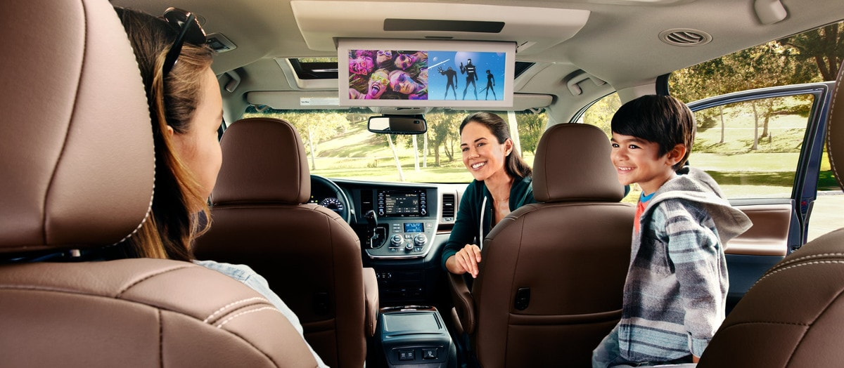 rear seat entertainment in 2019 Toyota Sienna