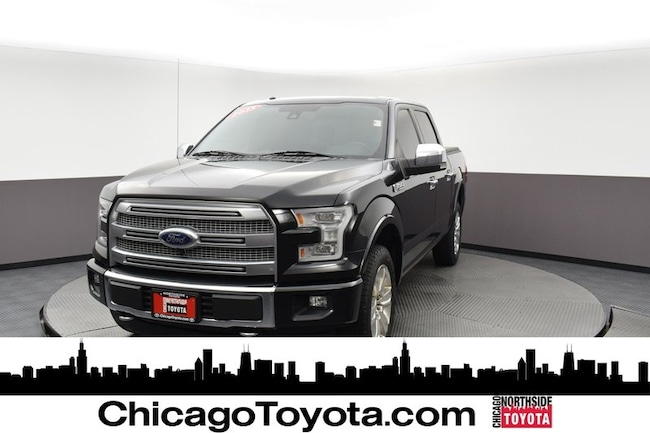 Used 2015 Ford F-150 Platinum 4WD SuperCrew 145 Platinum For Sale Chicago, IL