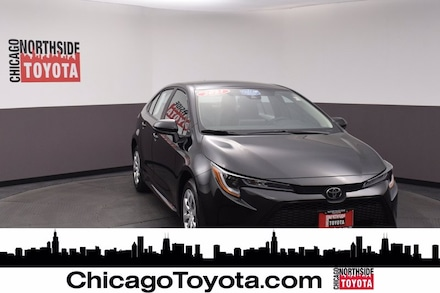 Featured Used 2021 Toyota Corolla LE Car for Sale in Chicago, IL