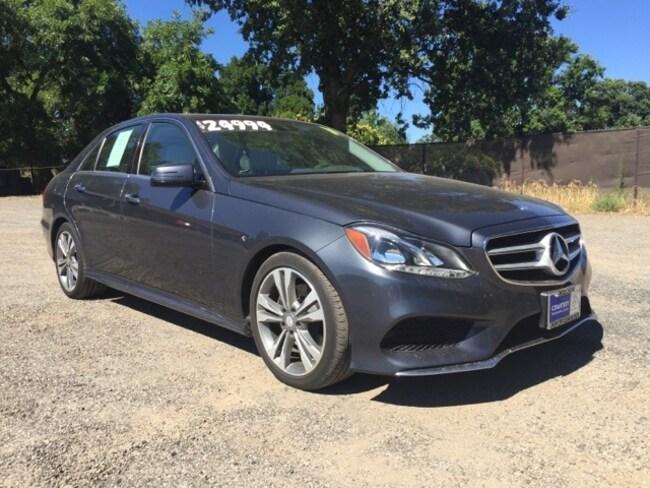 Used 2014 Mercedes-Benz E-Class E 350 For Sale in Chico CA    WDDHF5KB2EA857800