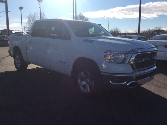 Featured pre-owned vehicles 2019 Ram 1500 Big Horn/Lone Star Truck Crew Cab for sale near you in Chico, CA