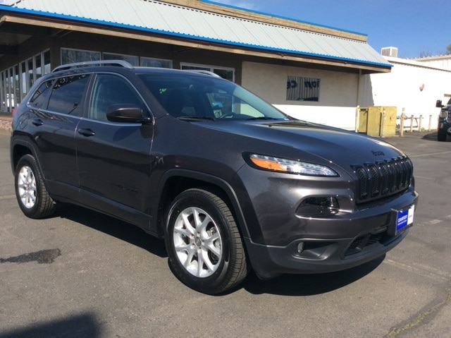 Featured pre-owned vehicles 2017 Jeep Cherokee Latitude SUV for sale near you in Chico, CA