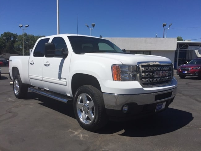 Used 2014 GMC Sierra 2500HD SLT Truck Crew Cab for sale in Chico, CA