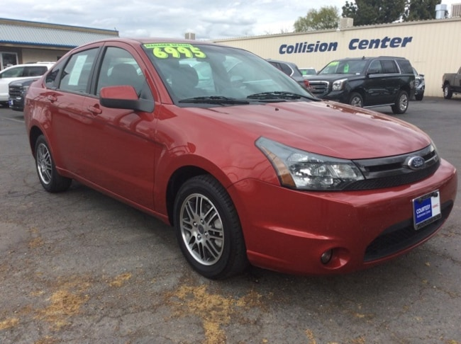Used 2010 Ford Focus SES Sedan for sale in Chico, CA