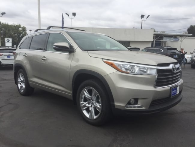Used 2015 Toyota Highlander Limited SUV for sale in Chico, CA