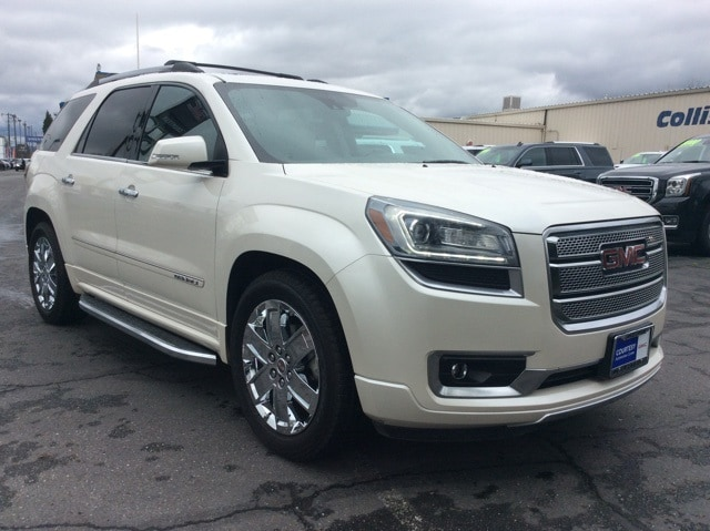 Featured pre-owned vehicles 2014 GMC Acadia Denali SUV for sale near you in Chico, CA
