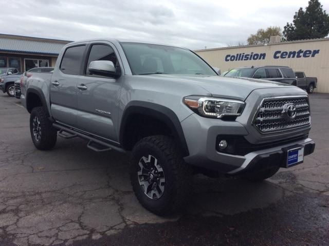 Featured pre-owned vehicles 2016 Toyota Tacoma TRD Offroad Truck Double Cab for sale near you in Chico, CA