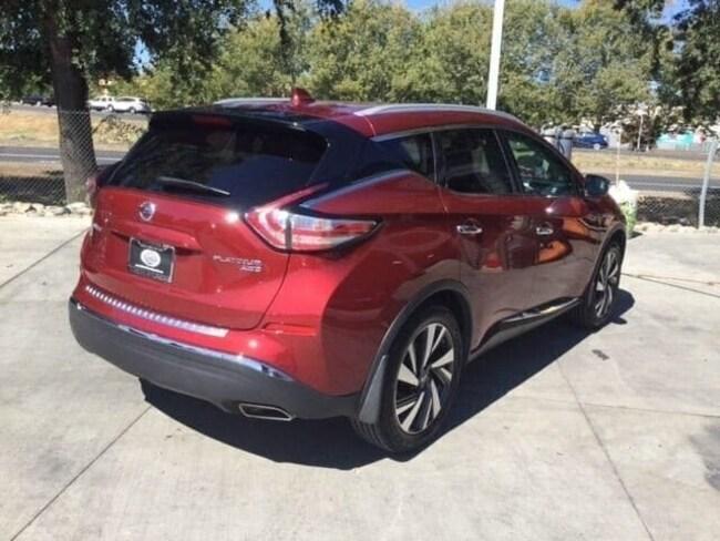 Used 2018 Nissan Murano Platinum SUV For Sale Chico, CA