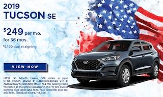 2019 May Tucson SE Lease