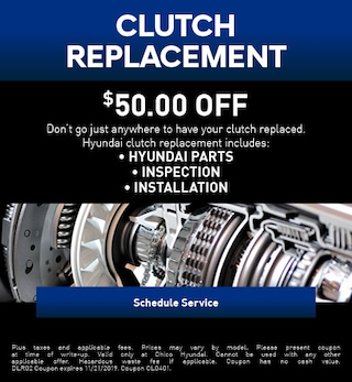 Clutch Replacement Special