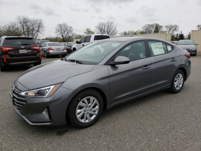 New 2019 Hyundai Elantra SE w/SULEV Sedan For Sale/Lease Chico, CA