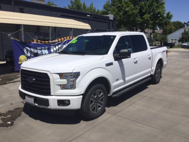 Used 2016 Ford F-150 XLT Truck SuperCrew Cab For Sale Chico, CA
