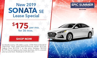July 2019 Sonata Lease Special