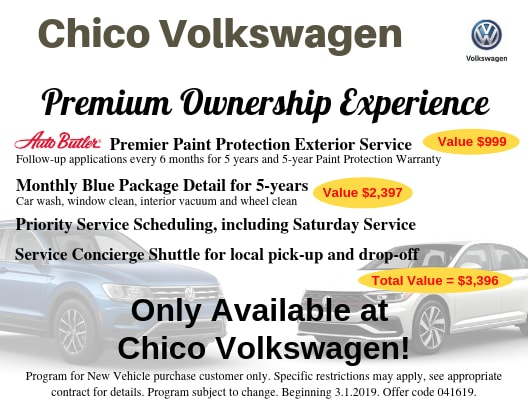 Car Wash Chico >> Premium Ownership Experience Chico Volkswagen