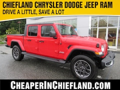 New 2020 Jeep Gladiator OVERLAND 4X4 Crew Cab 20G013 1C6HJTFG1LL139327 Chiefland, near Gainesville