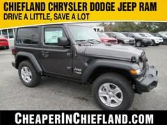 New 2020 Jeep Wrangler SPORT S 4X4 Sport Utility 20S135 1C4GJXAN0LW227835 Chiefland, near Gainesville