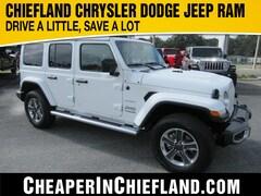 New 2020 Jeep Wrangler UNLIMITED SAHARA 4X4 Sport Utility 20S139 1C4HJXEN9LW218811 Chiefland, near Gainesville