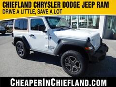 New 2019 Jeep Wrangler SPORT S 4X4 Sport Utility 19S141 1C4GJXAN7KW501563 Chiefland, near Gainesville