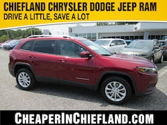 New 2020 Jeep Cherokee LATITUDE FWD Sport Utility 20R205 1C4PJLCBXLD626114 Chiefland, near Gainesville