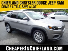 New 2019 Jeep Cherokee LATITUDE FWD Sport Utility 19R314 1C4PJLCB5KD454315 Chiefland, near Gainesville