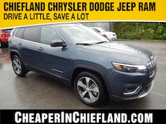 New 2019 Jeep Cherokee LIMITED FWD Sport Utility 19R309 1C4PJLDB1KD454312 Chiefland, near Gainesville