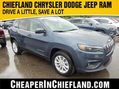 New 2019 Jeep Cherokee LATITUDE FWD Sport Utility 19R312 1C4PJLCB7KD454316 Chiefland, near Gainesville