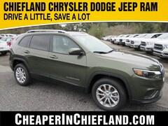 New 2020 Jeep Cherokee LATITUDE FWD Sport Utility 20R147 1C4PJLCB7LD580922 Chiefland, near Gainesville