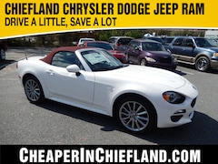 New 2018 FIAT 124 Spider LUSSO RED TOP EDITION Convertible 18Y162 JC1NFAEK7J0137875 Chiefland