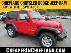 New 2020 Jeep Wrangler SPORT S 4X4 Sport Utility 20S134 1C4GJXAN3LW208096 Chiefland, near Gainesville